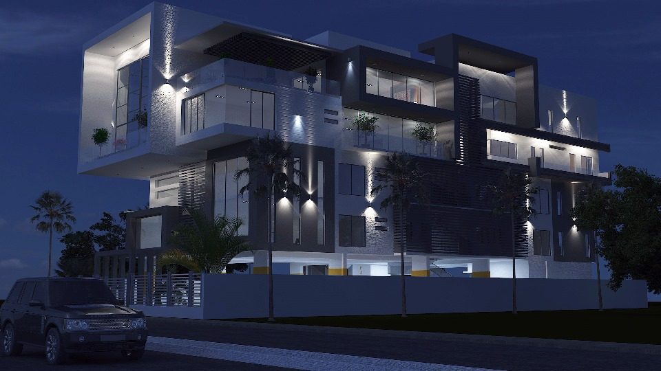 Designed and Rendered for ABI Project Concepts. Location: Banana Island