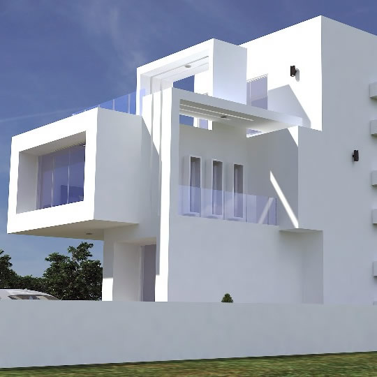 Rendered for ABI Projects Concepts. Location: Pinnock Estate, Lekki
