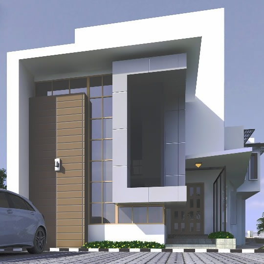 Residential Building in Pinnock Estate. Rendered for ABI Project Concepts